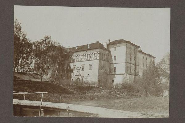 Пам'ятки міста Бережани на фото 1909 року
