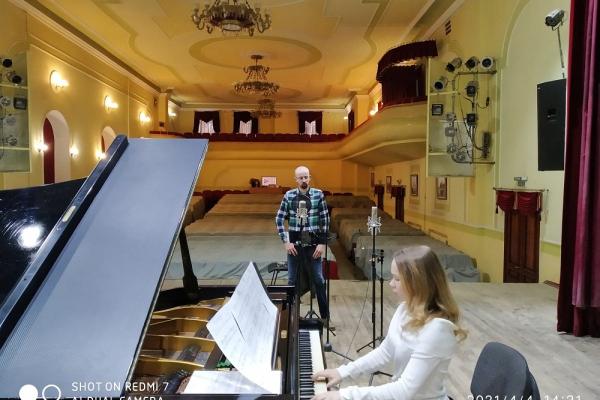 У Тернополі записують мистецькі пісні українських композиторів