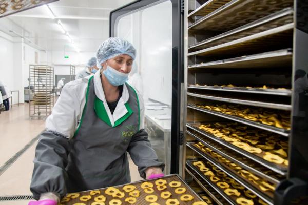 Вклали 600 млн грн інвестицій: на Тернопільщині розширюють потужності заводу з виробництва пюре, джемів, соків та дитячого харчування