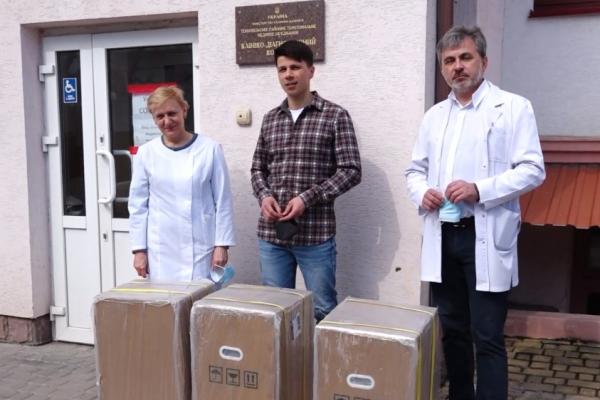 Корпорація «Опілля» долучилася до порятунку хворих з коронавірусом