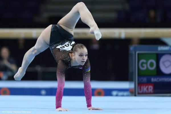 Тернопільська спортсменка Анастасія Бачинська виграла чемпіонат України зі спортивної гімнастики