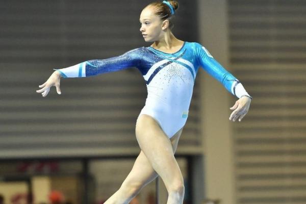 Тернопільська гімнастка здобула золото на чемпіонаті України