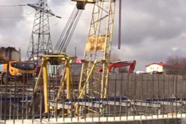 У Тернополі триває будівництво дворівневої дорожньої розв'язки на Гаївському шляхопроводі