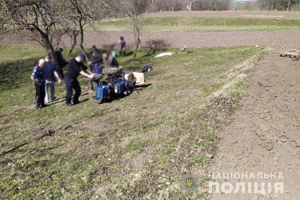На Тернопільщині під колесами трактора загинув 77-річний чоловік