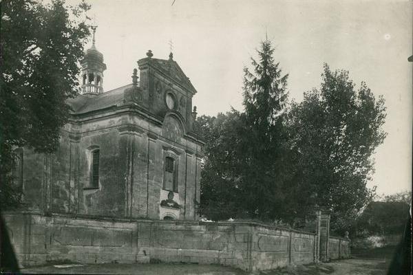 Храм в Буцневі на фото 1910 року