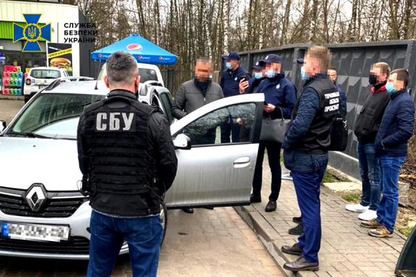 На Тернопільщині СБУ викрила високопосадовця Держпродспоживслужби на системному хабарництві