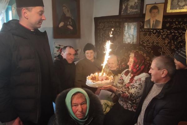 Ще одна мешканка Тернопільщині відсвяткувала 100-річчя