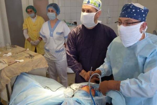 У Шумську провели складну операцію на суглобах