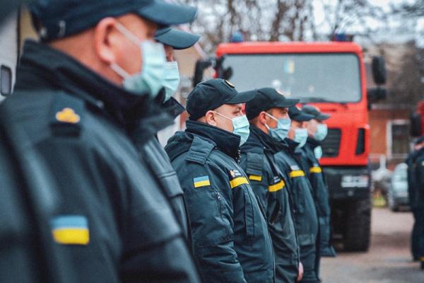 У Тернополі привітали вогнеборців з професійним святом
