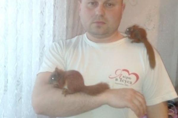 У квартирі тернополянина Юрія Дмитровського народилися білченята
