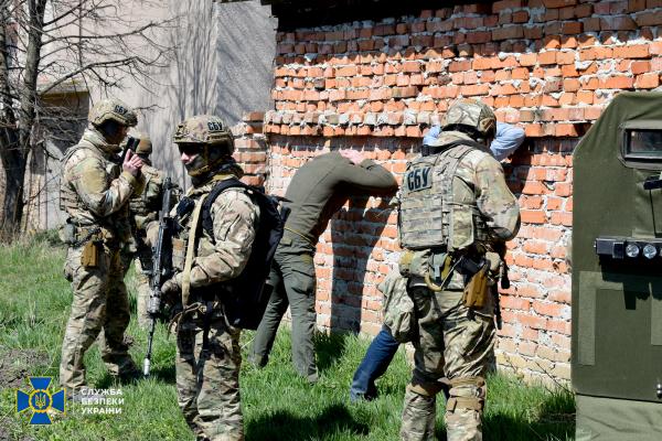 На Тернопільщині СБУ провела антитерористичні навчання
