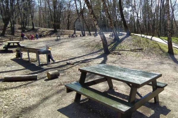 У тернопільському парку облаштували зону барбекю