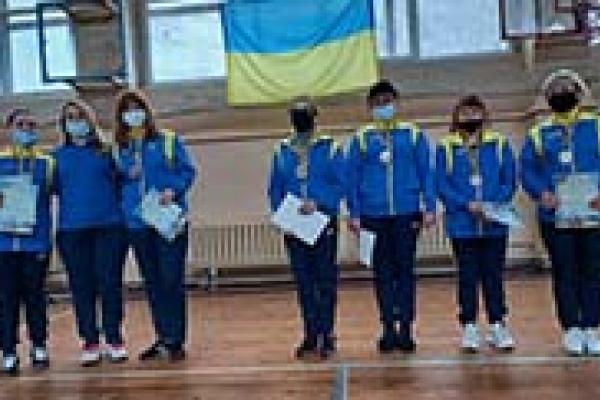 Тернопільські спортсмени здобули бронзу на чемпіонаті України з голболу
