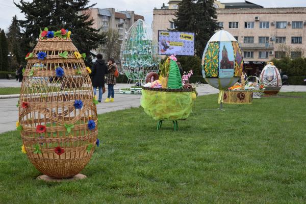 В одній із громад Тернопільщини презентували Великодню виставку