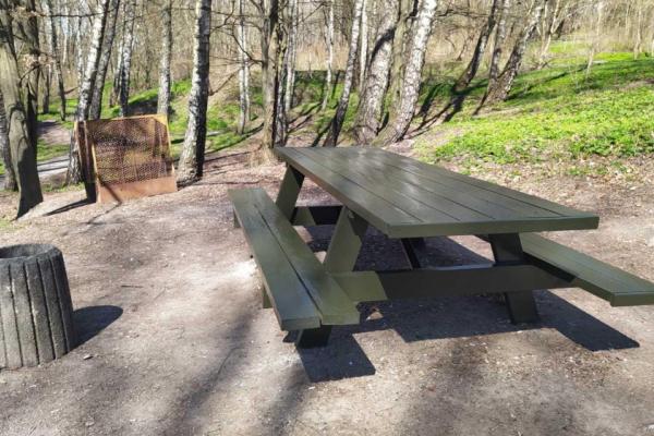 У тернопільському парку відновили зону для відпочинку