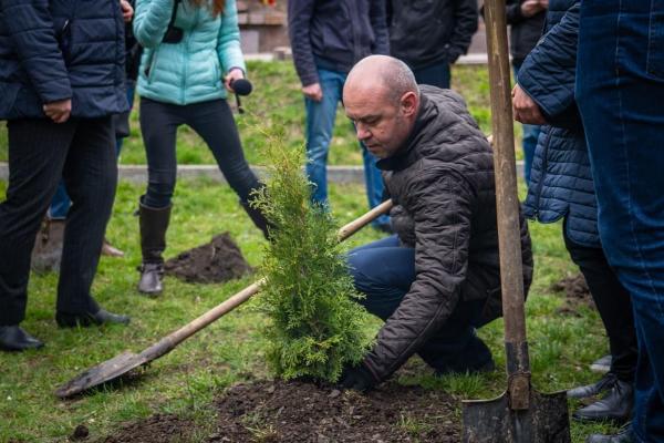 Тернопіль нарощує свої «зелені легені»