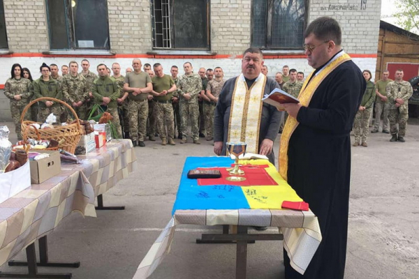 Священнослужителі з Тернопільщини відвідали зону ООС/АТО
