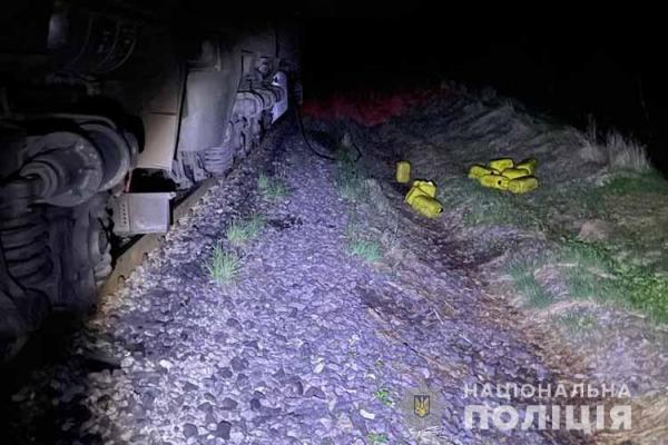 Намагався привласнити 380 літрів пального: на Тернопільщині затримали працівника залізниці