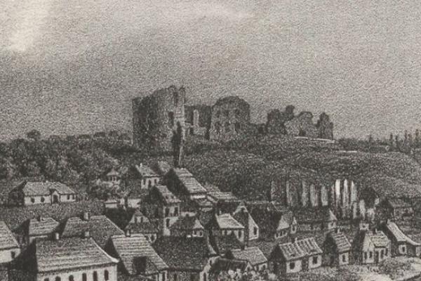 Місто Бучач 250 років тому