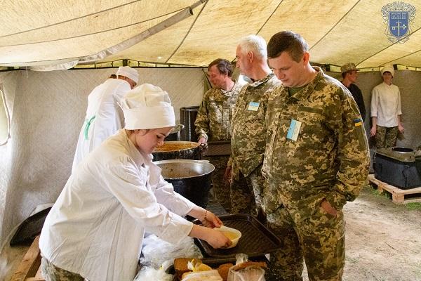 На Тернопільщині тривають військові збори