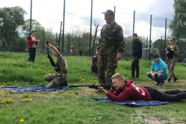 На Тернопільщині відбулася військово-патріотична гра «Сокіл»