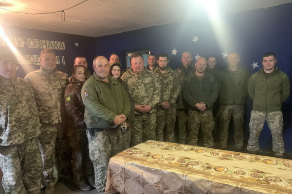 Священнослужителі з Тернопільщини поїхали з духовною місією в зону бойових дій