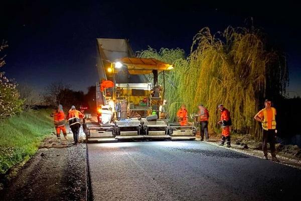 Ремонт доріг на Тернопільщині: «БМбуд» продовжує роботу в різних районах