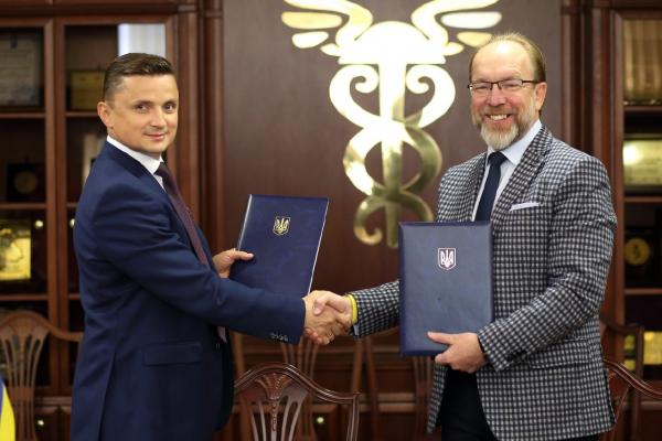 Михайло Головко підписав меморандум про співпрацю з президентом Торгово-промислової палати України