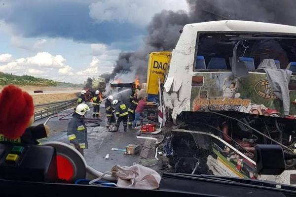 Кермувальник автобуса розповів про ДТП у яку він потратив у Польщі