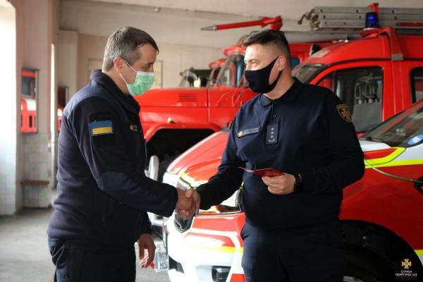 У Кременці новий керівник рятувальної служби