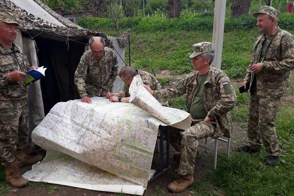 На Бережанщині завершилися збори з територіальної оборони