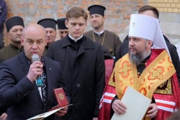 Міського голову Тернополя нагородили Орденом Святого Великомученика Юрія Переможця