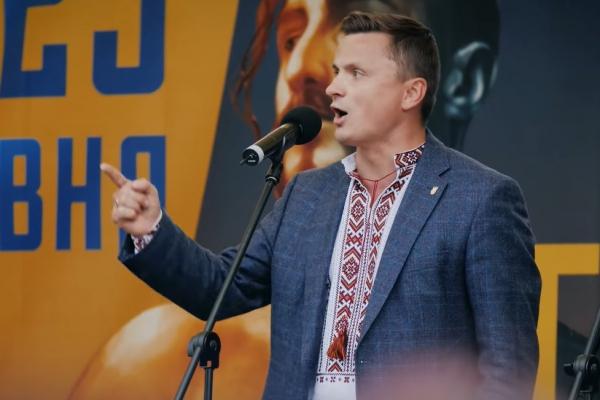 «Ми будемо боротися за світле майбутнє нашої нації», – Михайло Головко на Марші Героїв у Тернополі