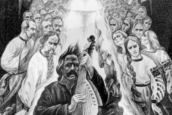 У Борщові відкрили виставку «Кобзарі - Гомери України» до дня перепоховання Шевченка