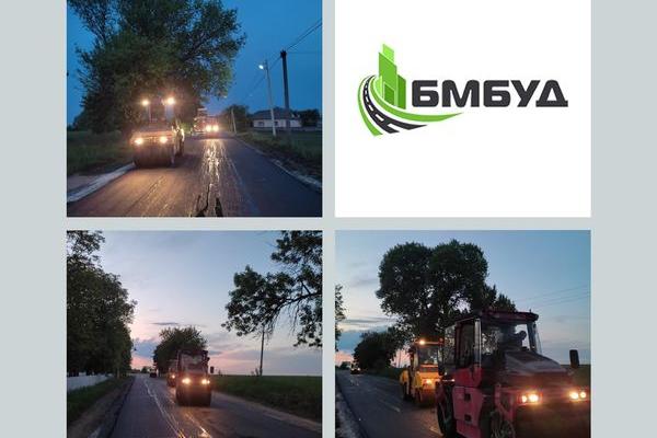 У «БМбуд» розповіли про роботи на дорогах Тернопільщини, які виконували впродовж травня