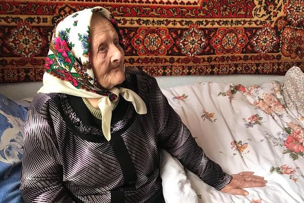 Жителька Тернопільщини Броніслава Петріца відзначила 100-річчя