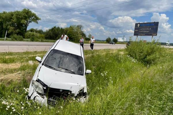 На Тернопільщині не розминулися два автомобілі