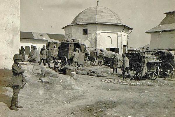 Підгайці на фото часів Першої світової війни