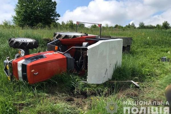 На Тернопільщині в полі знайшли мертвого тракториста