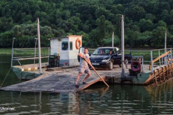 На Тернопільщині припинили роботу поромні переправи