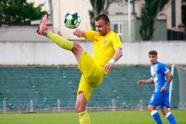 Сергій Кисленко став кращим бомбардиром Тернопільської «Ниви»