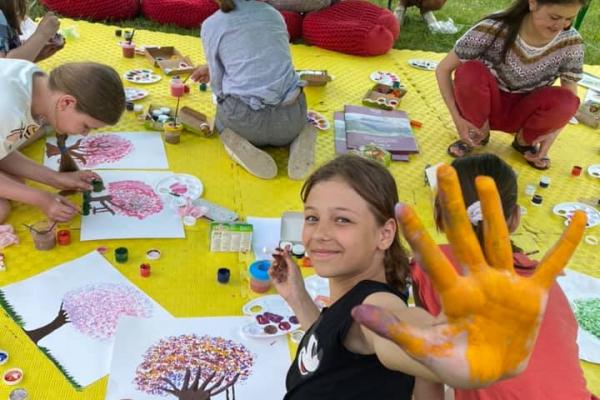 У Тернопільському «Карітасі» діє дитячий табір