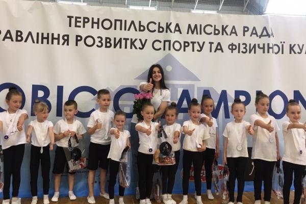У Тернополі відбувся відкритий чемпіонат зі спортивної аеробіки