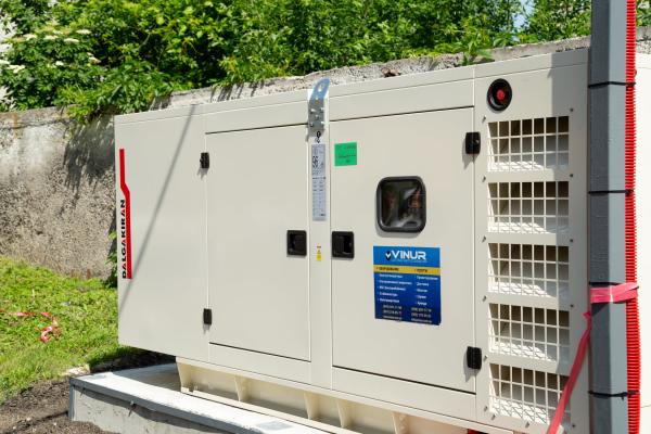 Тернопільському лабораторному центру передали потужний генератор