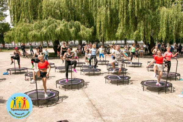 У Тернополі відбувся «Олімпійський день-2021»