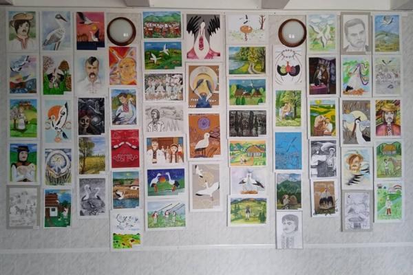 Тернопільські школярі беруть участь у Всеукраїнській виставці-конкурсі«Білий птах»