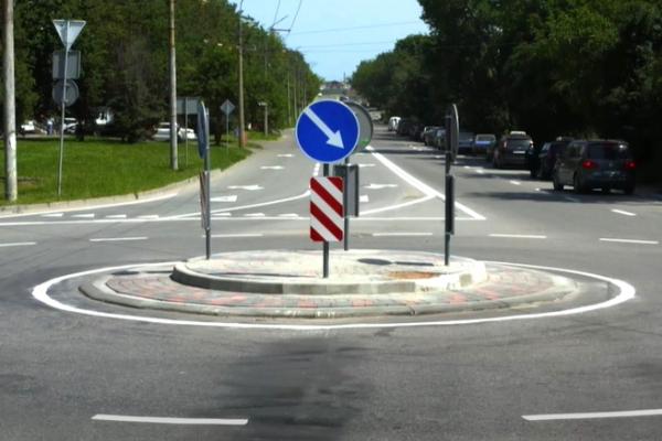 Тернопіль: на перехресті вулиць Корольова - Купчинського встановили кільце