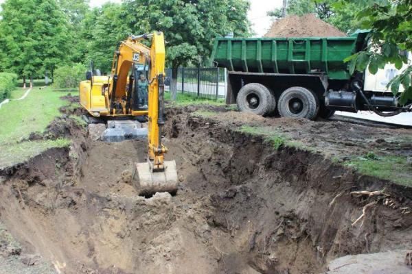 У Верхньому Івачеві поблизу Тернополя реконструюють водозабір