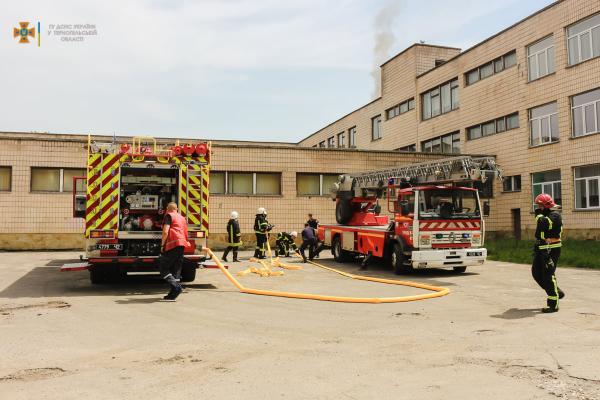 В одній зі шкіл Тернополя виникла пожежа