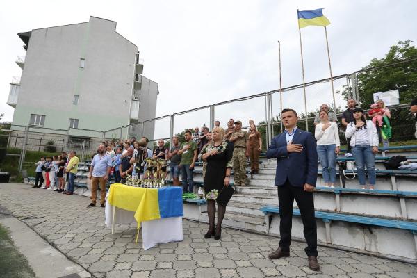 У Тернополі турніром з міні-футболу вшанували пам'ять айдарівця Івана Дедюха